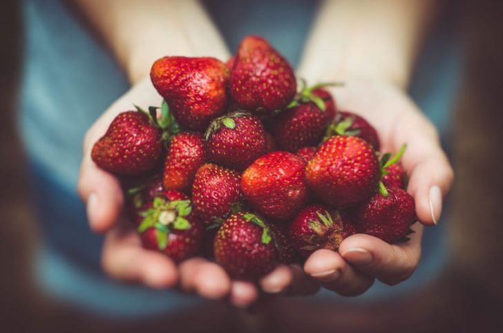Heal Your Body strawberries