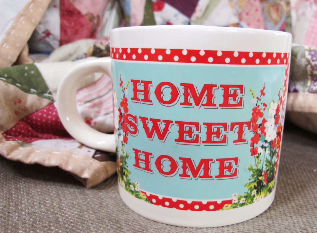 Feeling Good At Home coffee mug