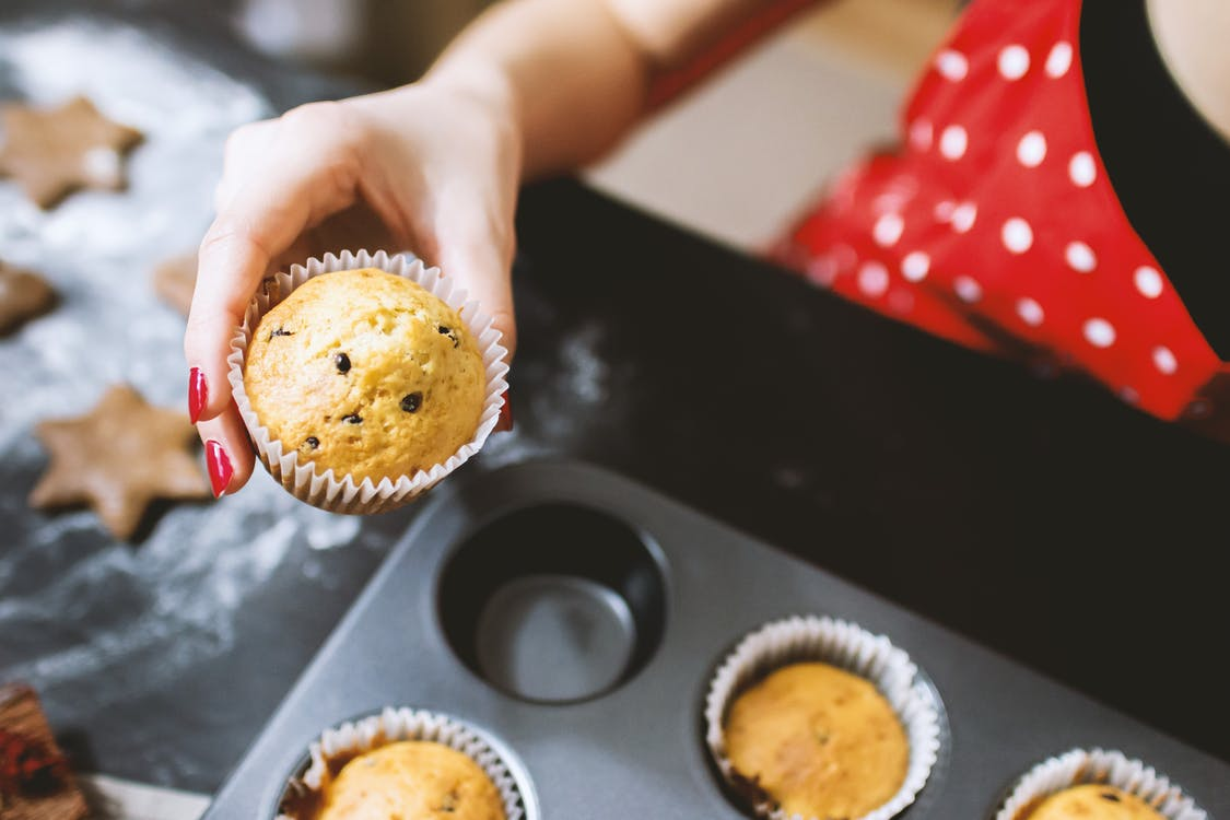 food blogs cooking muffins