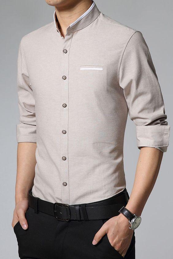 church dress men shirt
