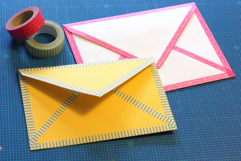 DIY Projects envelope colors