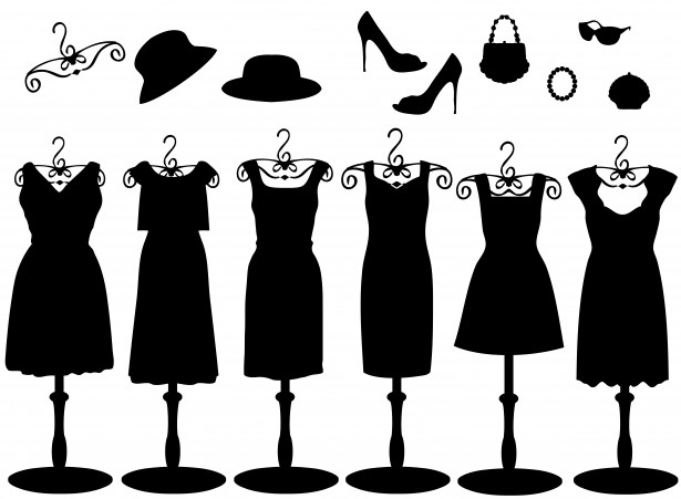 Accessories for fashion mannequins standing