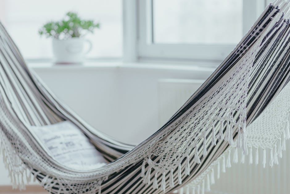 Indoor-Outdoors hammock