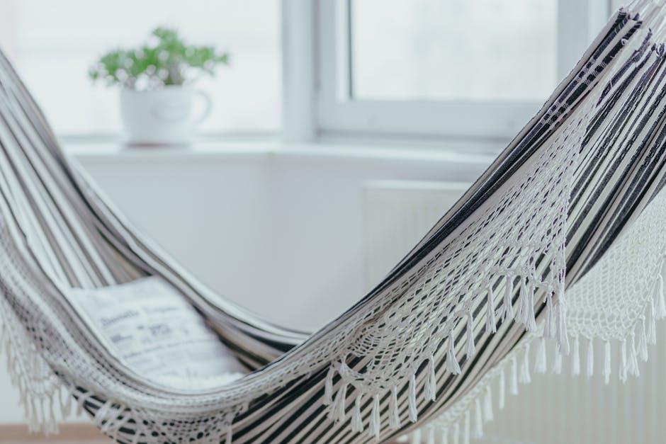 Indoor-Outdoors hammock