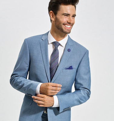Sport Coat man all smiles