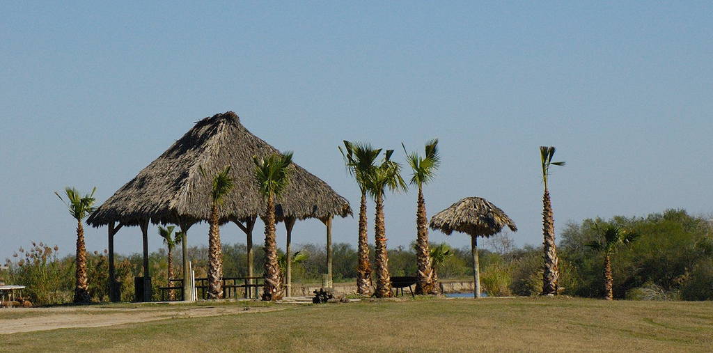 Rv Parks huts on the beach