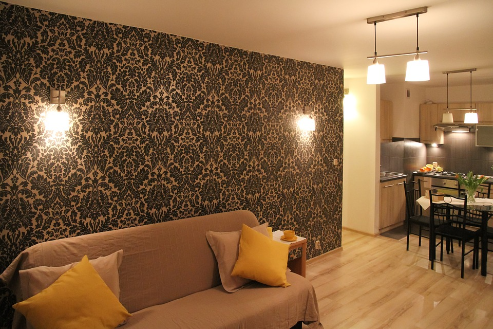feature wall design pattern