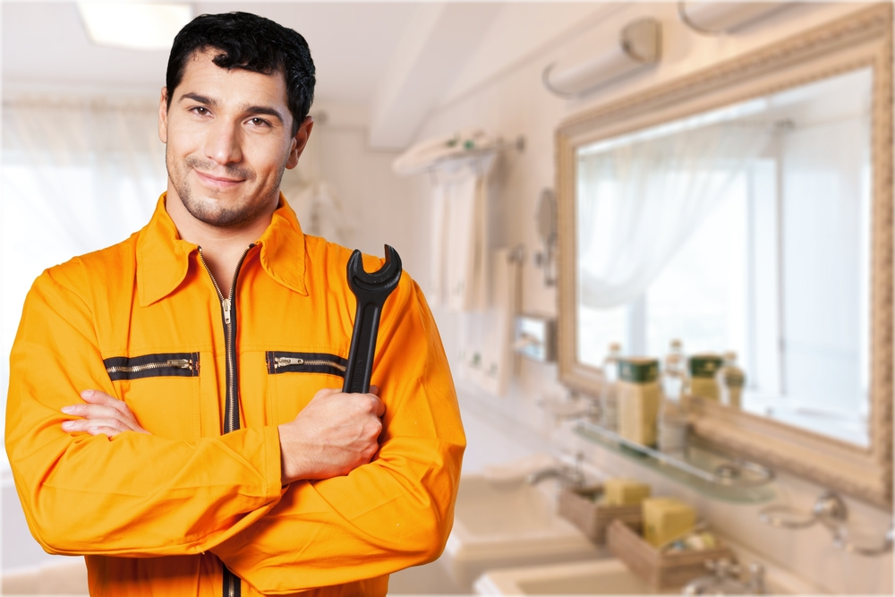 Building Maintenance Services man with arms crossed
