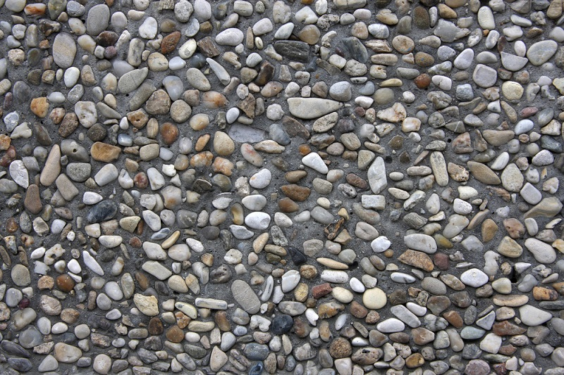 Building Materials rocks and pebbles