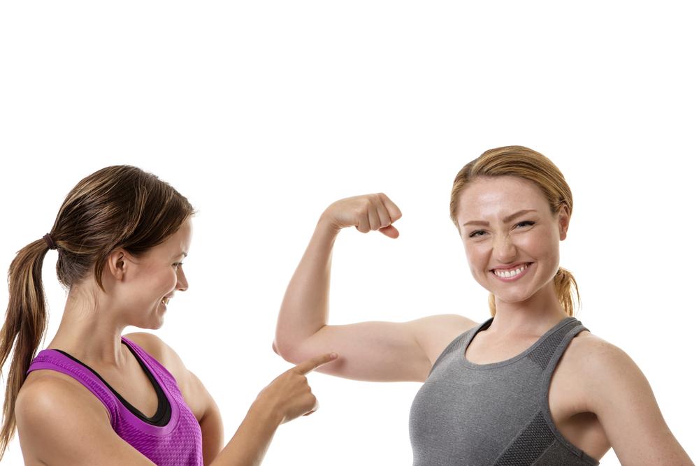 Lose Arm Fat flexing