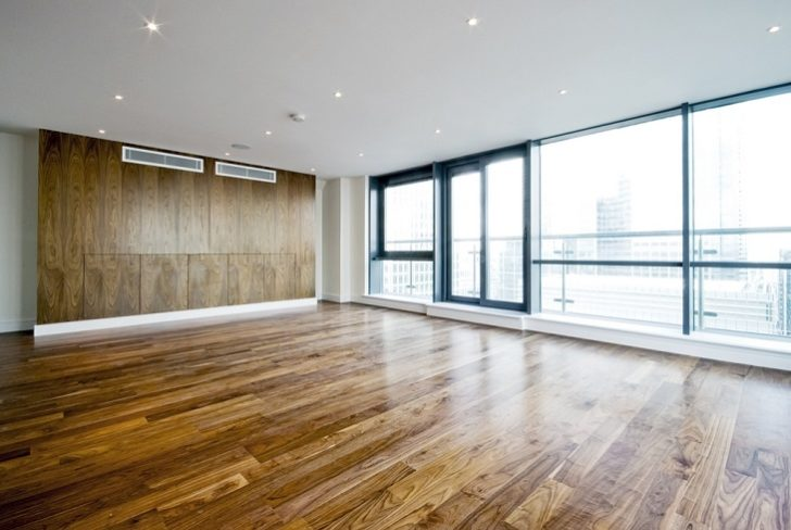 hardwood oak flooring with good lighting