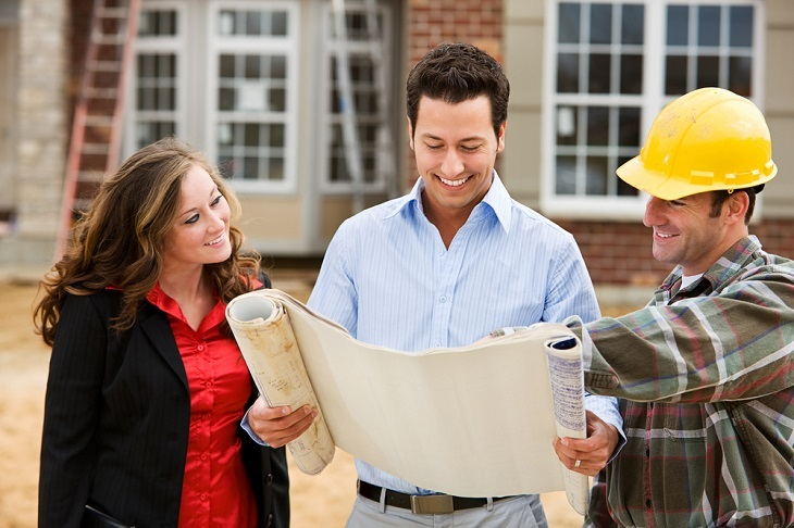 Reliable Pad Footing services man with plans