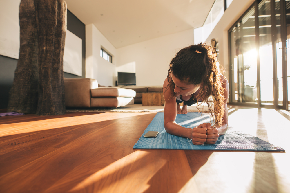 Lose Arm Fat planking