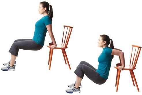 Triceps-Dips-Using-Chair