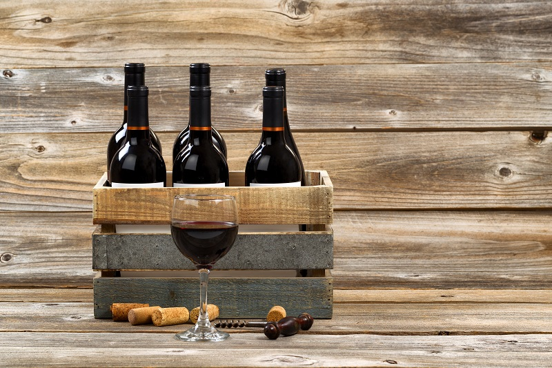 Wooden Pallets wine rack