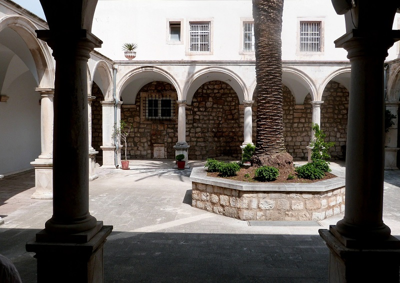 Paving Stones courtyard outside