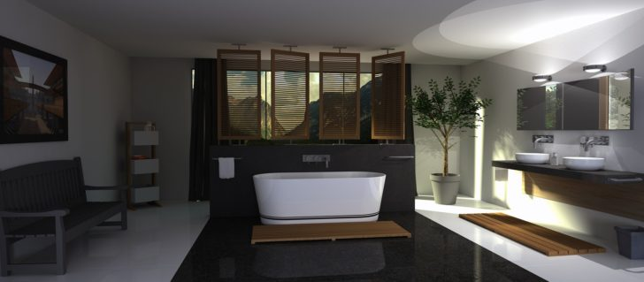 designing bathroom with bathtub