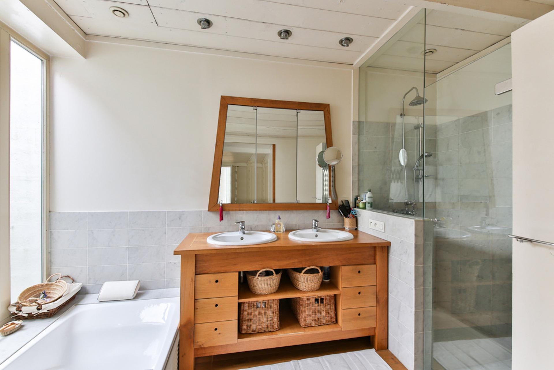 designing bathroom vanity