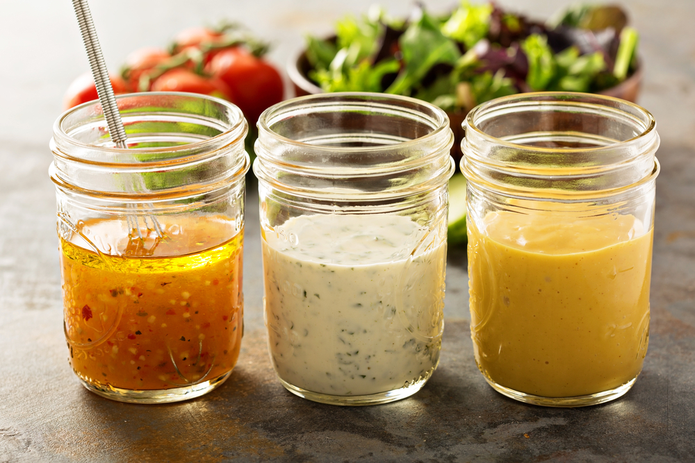 Recipes fresh made salad dressings