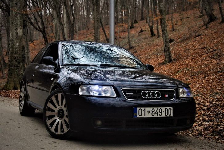used Audi black car
