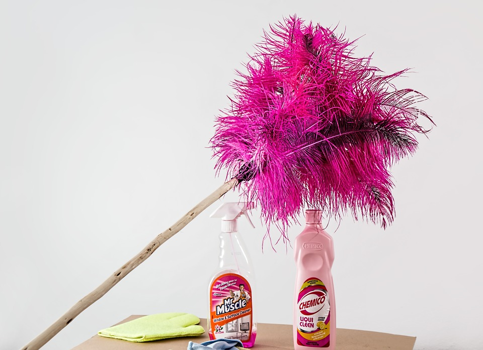 Natural Products Are Safer dusting