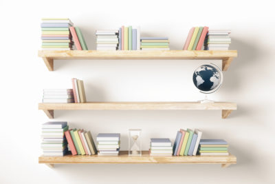 Make A Simple Bookshelf DIY photo