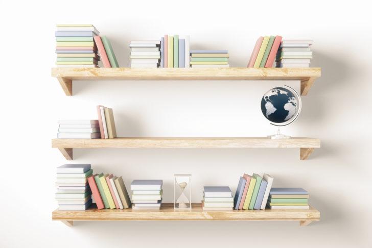 Make A Simple Bookshelf DIY Photo