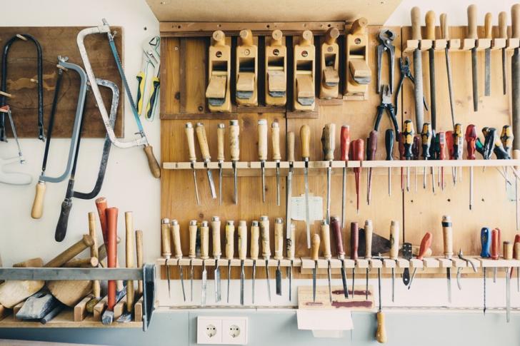 Garage Workshop tools on board
