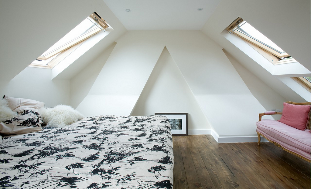 Theme Room Design white loft ideas