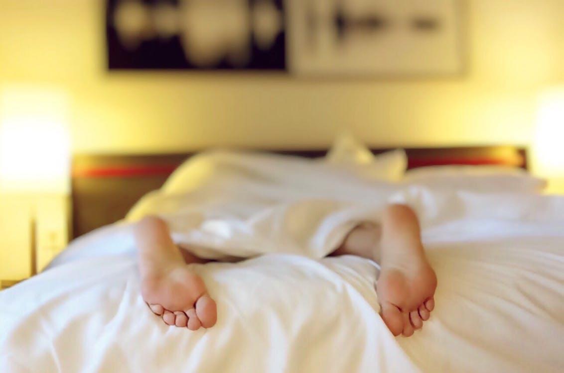 Choosing the Right Mattress fast asleep