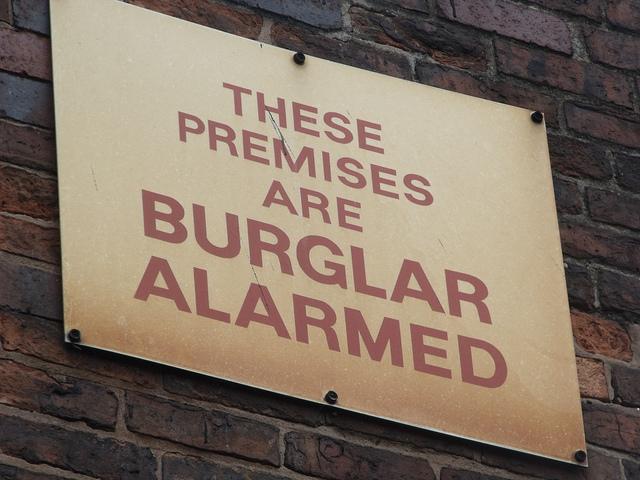Vacation burglar alarm