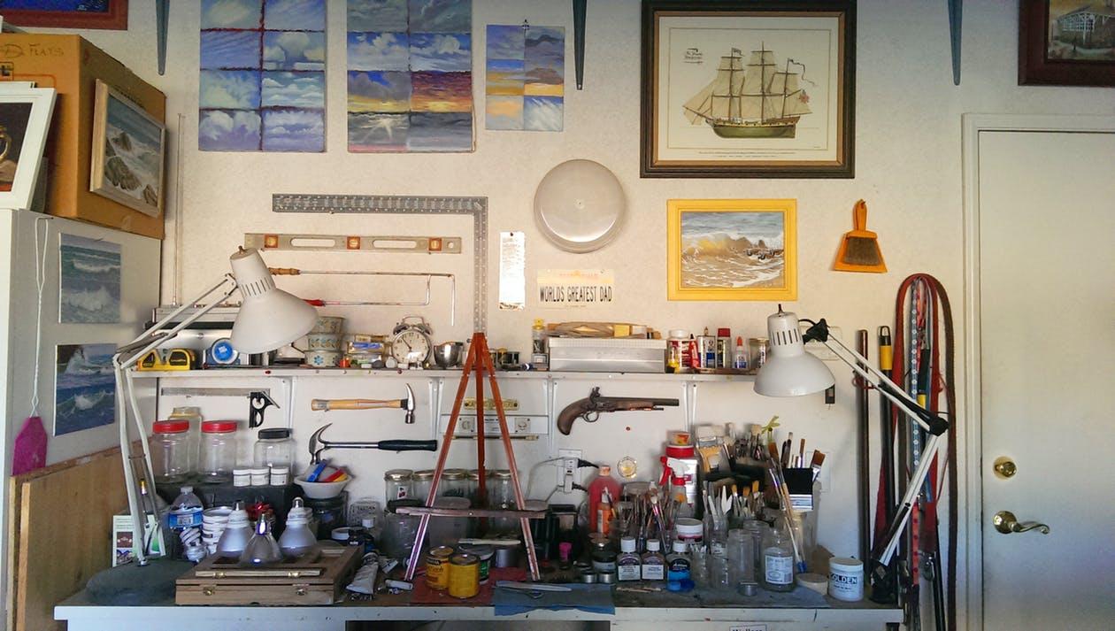 Garage Workshop tools
