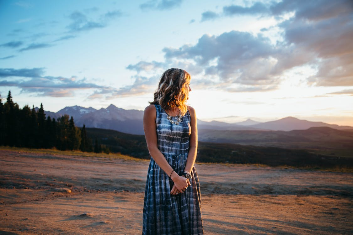 Maxing Out Your Style with a Maxi Dress woman outdoors