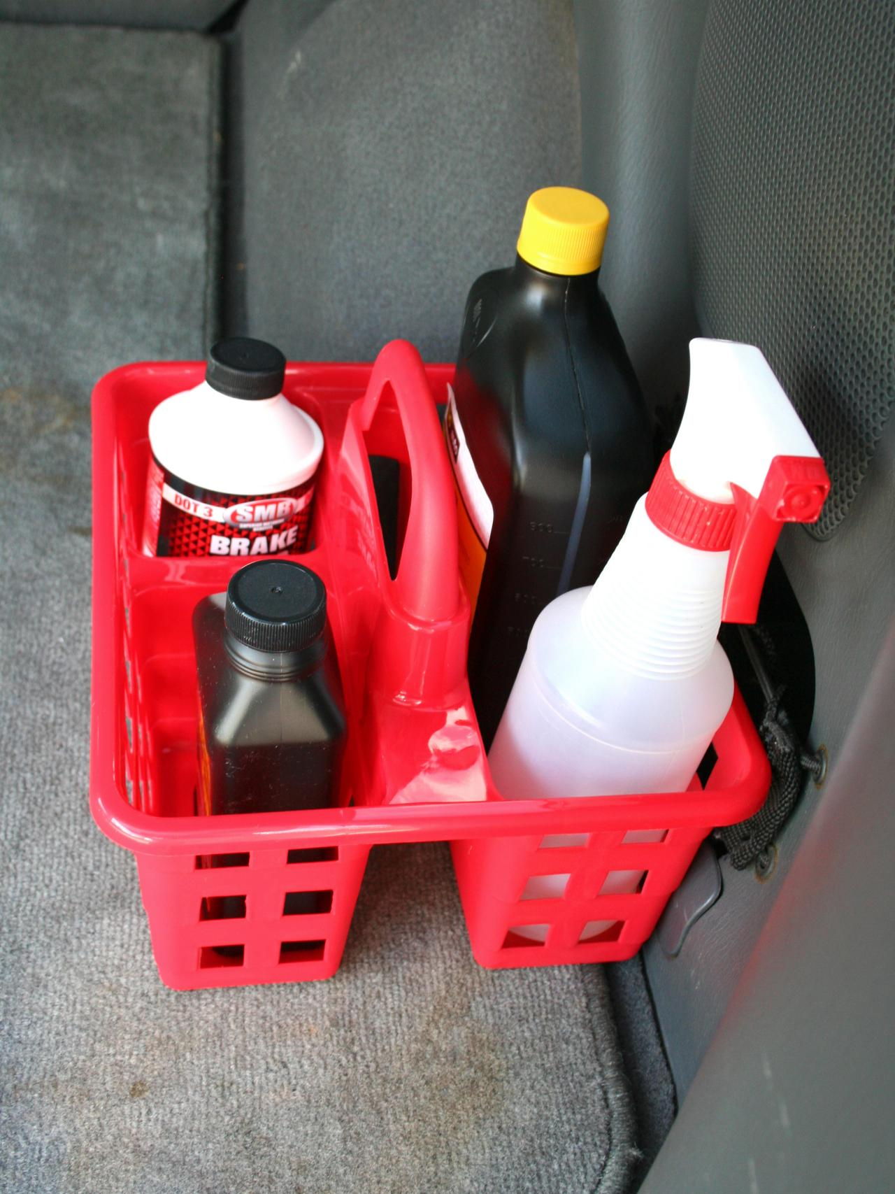 car cleaning items