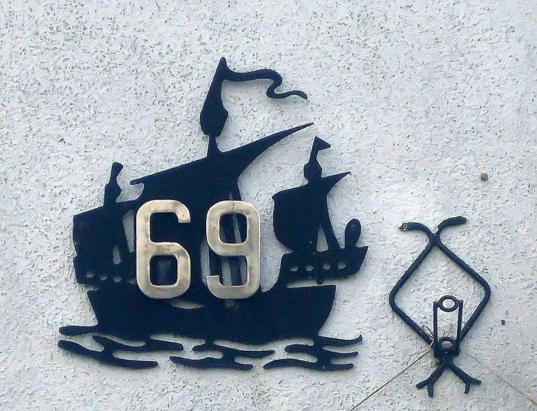 address 69 on black ship