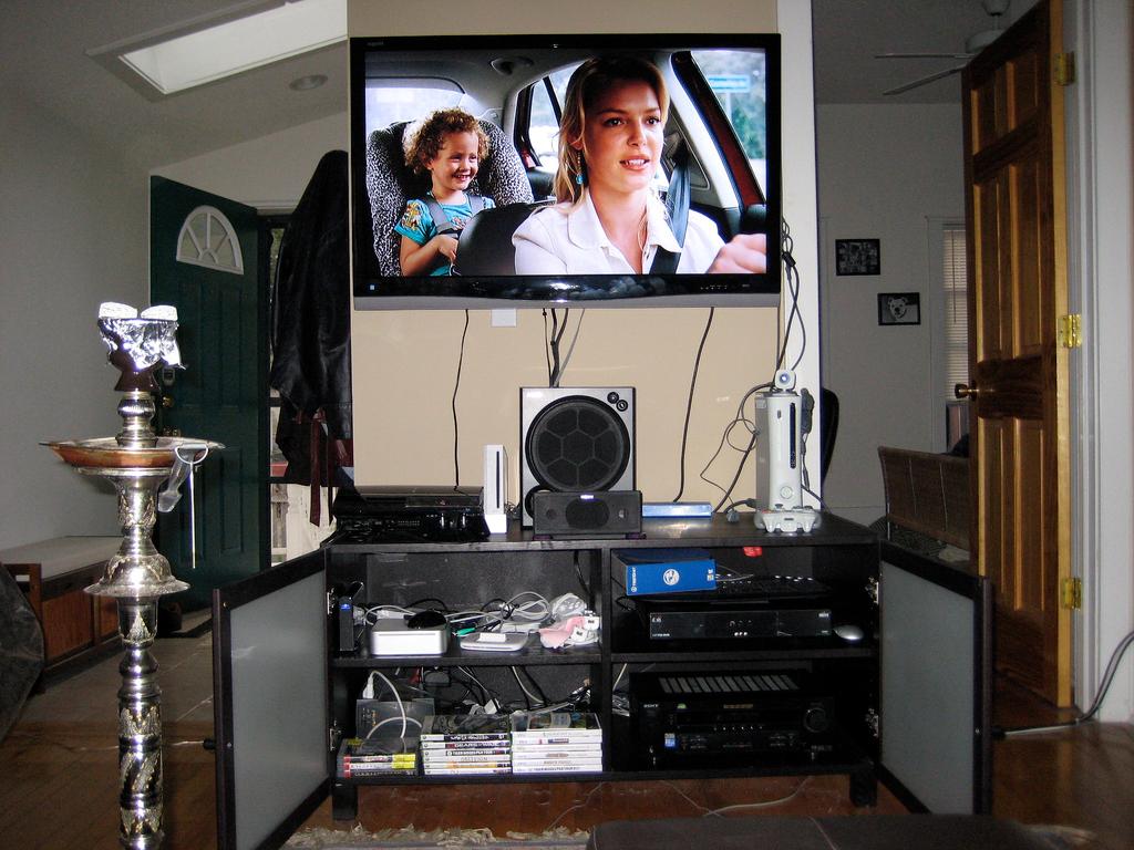 Home Parties entertainment center