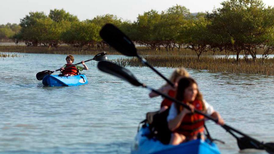 5 Water Sports in Abu Dhabi canoeing