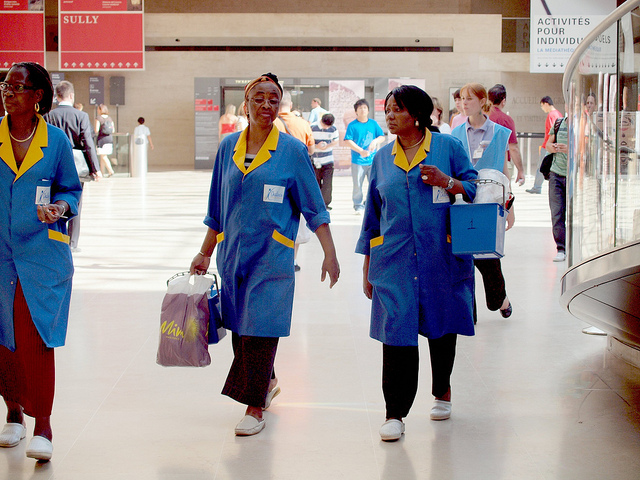 women walking in airport
