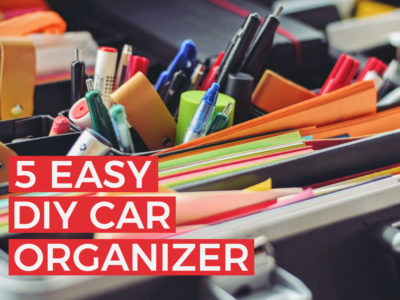 5 Easy DIY Car Organizer Ideas