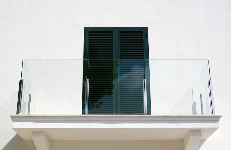 Balustrade Glass door