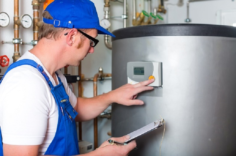 Hot Water Service Providers HVAC man