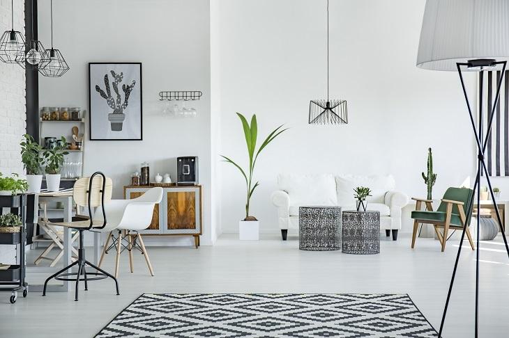 Home Decor white room area