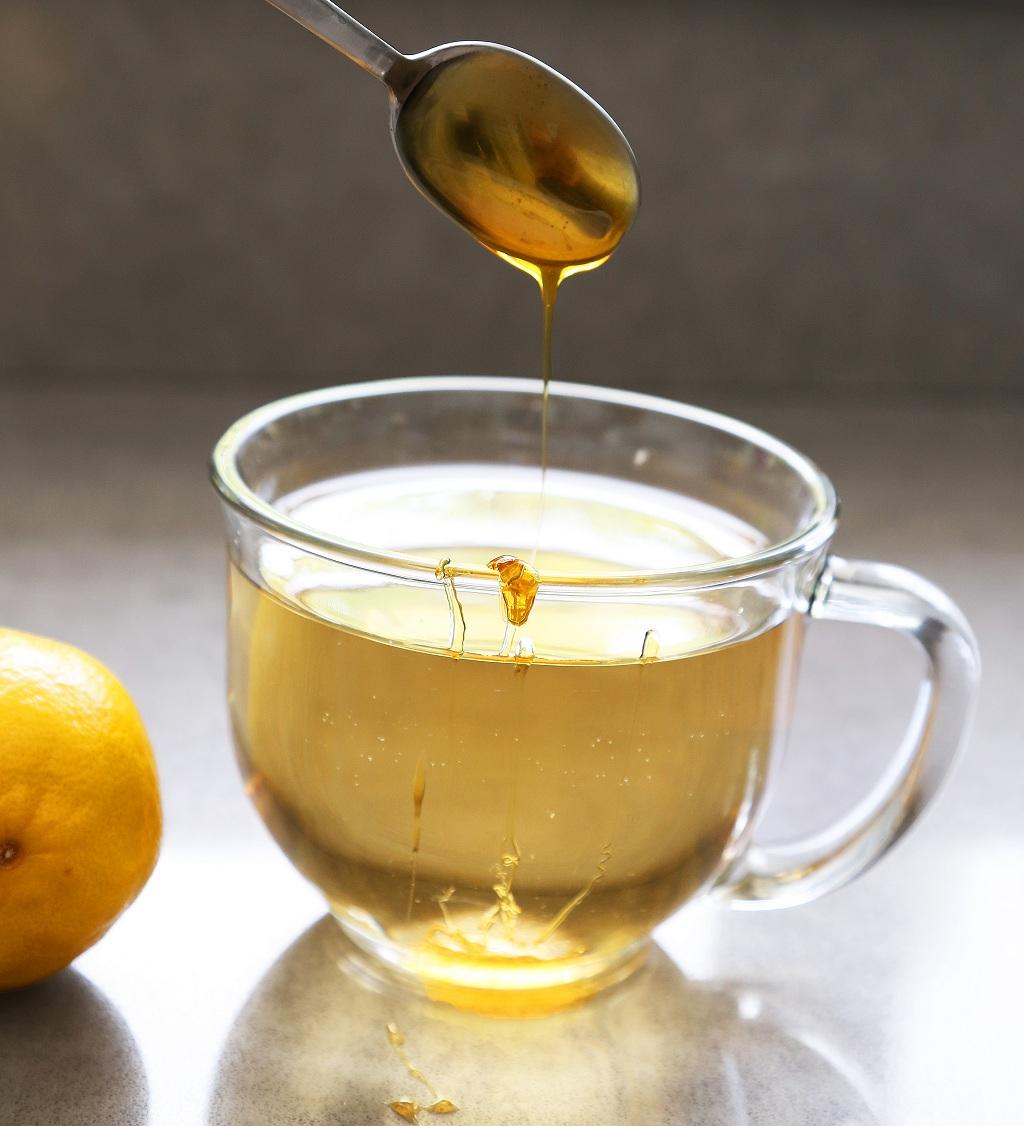 weight loss detox tea glass