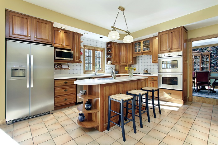 Kitchen Cabinet Makers light kitchen