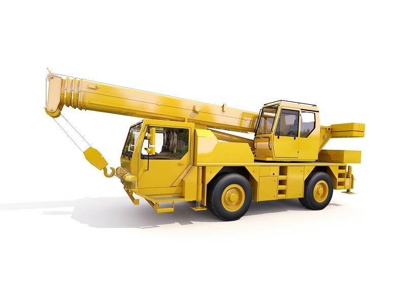 Pick & Carry Cranes yellow