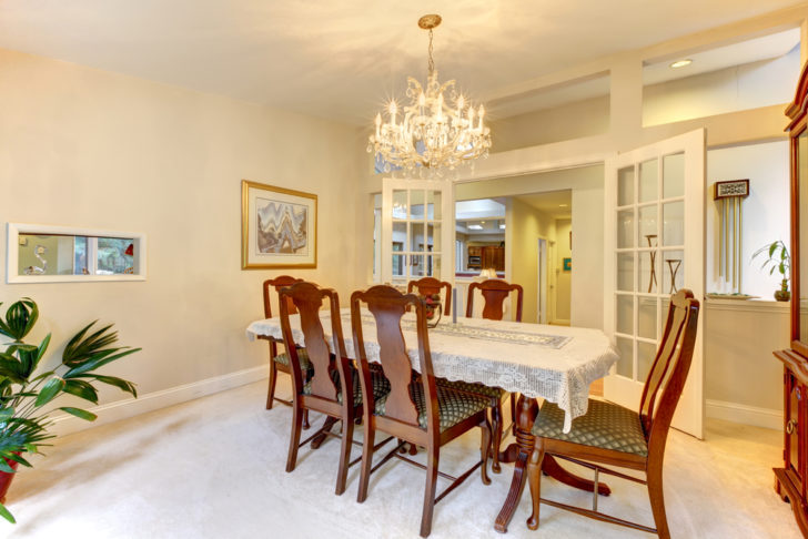 Timber Dining Tables room