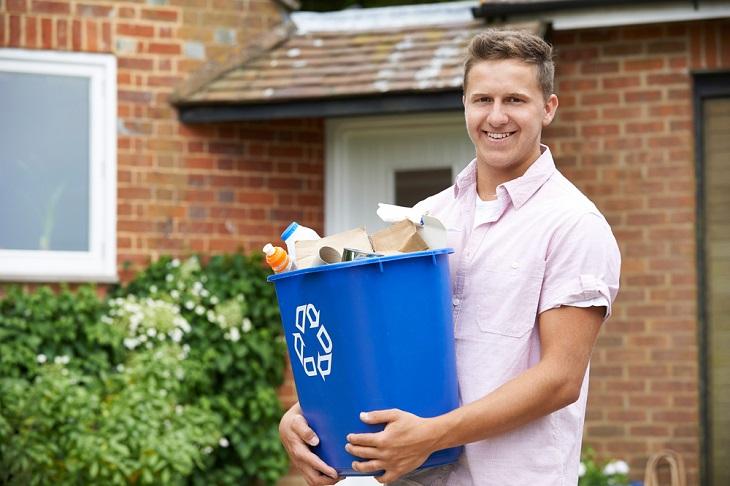 Complete Waste Disposal blue bin