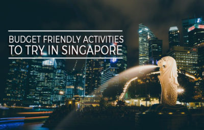 Activities To Try In Singapore