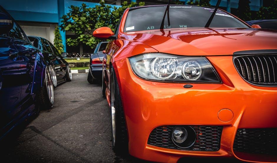 Vehicle's Aftersales Value orange bmw