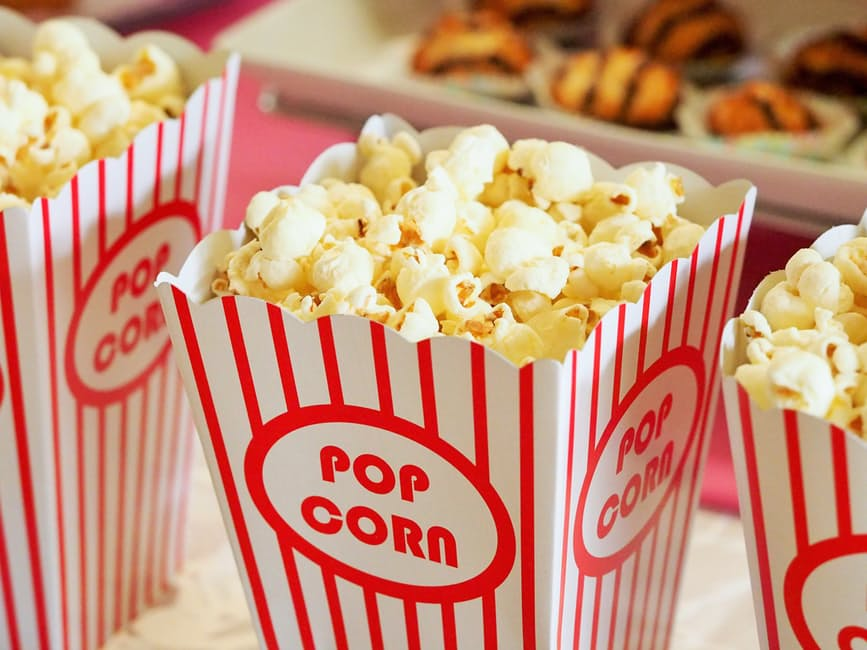 Family Movie Night popcorn essentials